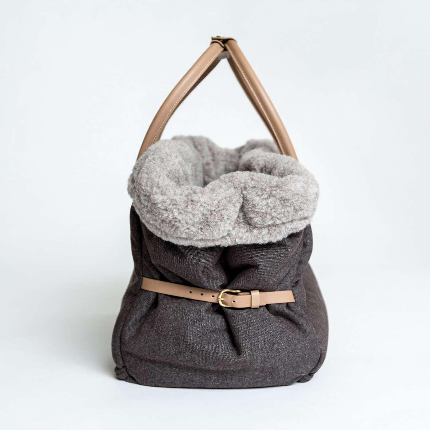 cloud7_dog_carrier_heather_brown_side